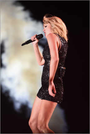 Canvas print  Taylor Swift in concert, F1 United States Grand Prix, Texas 2016