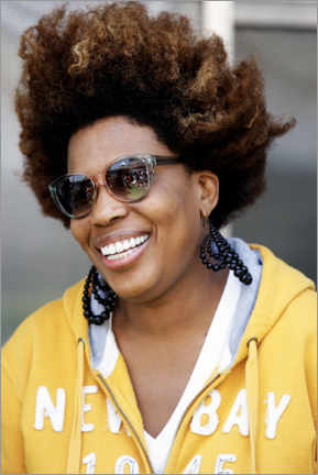 Premium poster  Macy Gray at Formula One World Championship, Brazil 2011