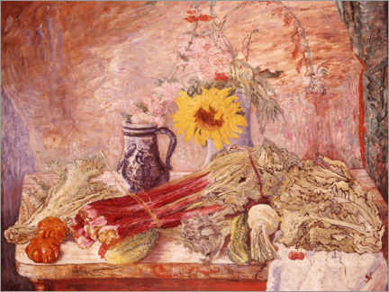 Acrylic print  Flowers and vegetables - James Ensor