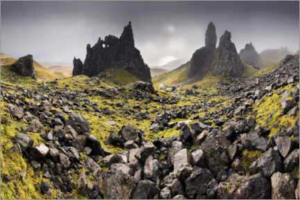 Acrylic print  The Old Man of Storr in autumn - Sven Müller
