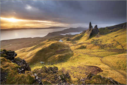 Wall sticker  The Old Man of Storr at sunrise - Sven Müller