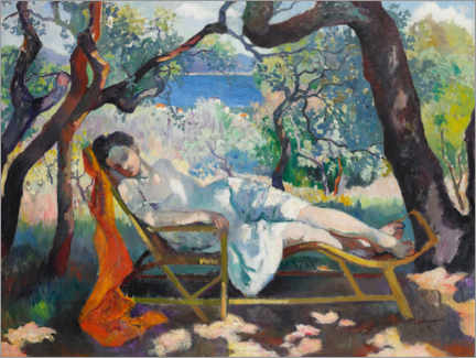Canvas print  Siesta - Henri Manguin