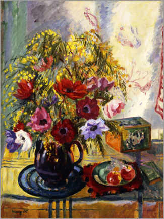 Gallery print  Flowers and fruits - Henri Manguin