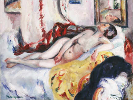 Gallery print  Nude Sleeping - Henri Manguin