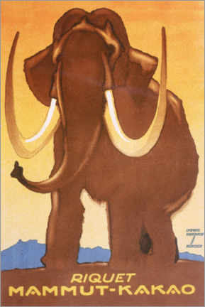 Gallery print  Riquet, Mammoth Cocoa - Ludwig Hohlwein