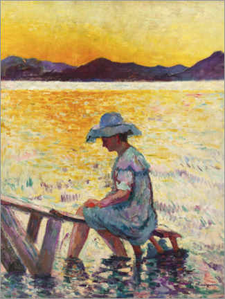 Wall sticker  Saint-Tropez, the sunset - Henri Manguin