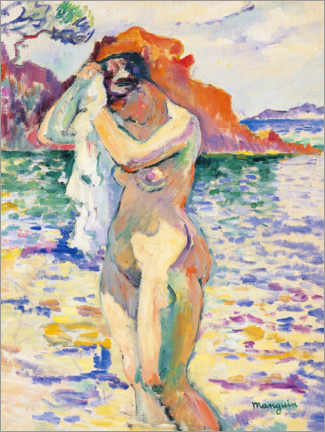 Acrylic print  Bather - Henri Manguin