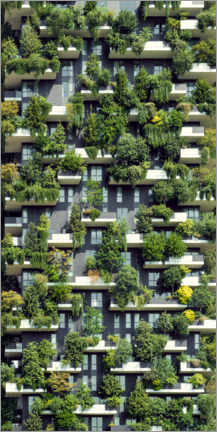 Premium poster  Tree Houses Vertical Forest - Martin Wimmer