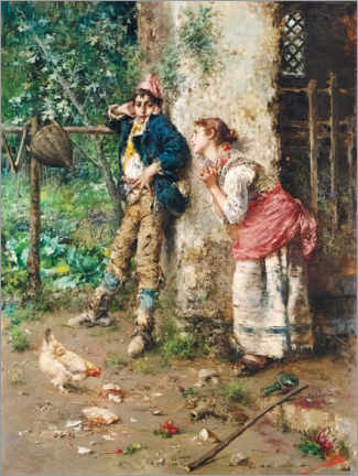 Acrylic print  Break in the country - Vincenzo Irolli