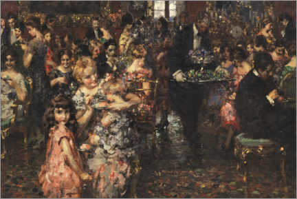 Canvas print  The reception - Vincenzo Irolli