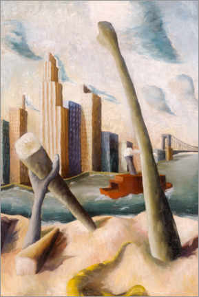 Canvas print  New York - Peter Purves Smith
