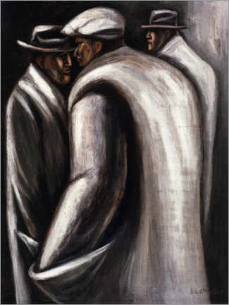Gallery print  The unemployed - José Clemente Orozco