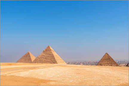 Premium poster  The Pyramids in Giza, Egypt - George Pachantouris