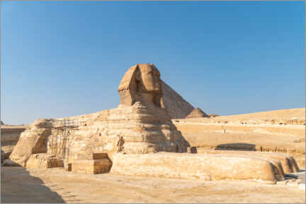 Premium poster The Great Sphinx of Giza, Egypt