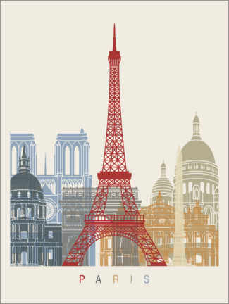 Canvas print  Paris