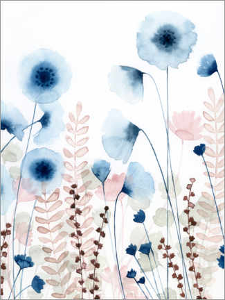 Premium poster Sweet flower field