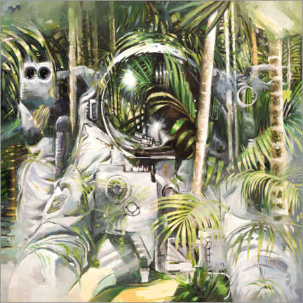 Canvas print  Bamboo forest - Johnny Morant