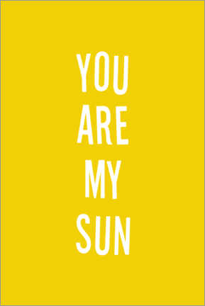 Gallery print  You are my sun - Ohkimiko