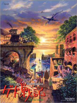 Canvas print  Tales from Earthsea (Japanese) - Entertainment Collection