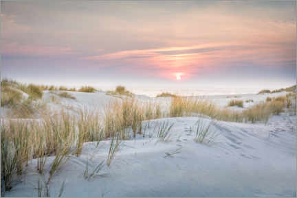 Wall sticker  Sunrise in the dunes on Sylt - Christian Müringer