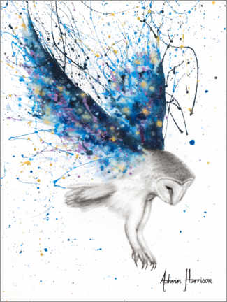 Canvas print  The Spirit Owl - Ashvin Harrison