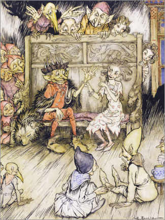 Wall sticker  Illustration from the magic mountain - Arthur Rackham