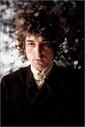 Canvas print  Bob Dylan - Dmitry Belov