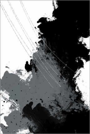 Premium poster Abstract painting V