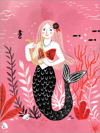 Gallery print  Mermaid - Kathryn Selbert