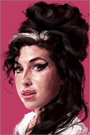 Premium poster  Amy Winehouse - Dmitry Belov