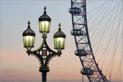 Wall sticker  London Eye - Jan Christopher Becke