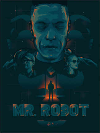Canvas print  Mr. Robot - The Usher designs
