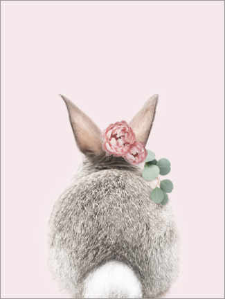 Premium poster  Flower Bunny Tail - Sisi And Seb