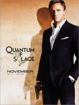Wood print  Quantum of Solace - Entertainment Collection