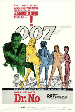 Gallery print  James Bond - 007 - Dr. No - Entertainment Collection