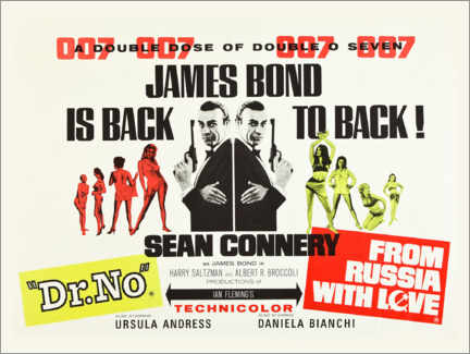 Wall sticker  James Bond is back! - Entertainment Collection
