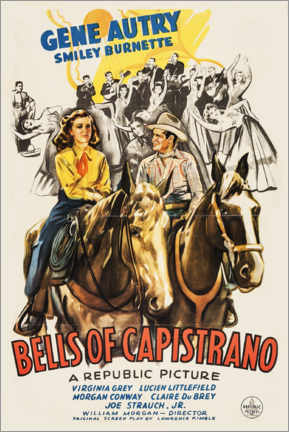 Premium poster  Bells of Capistrano - Entertainment Collection