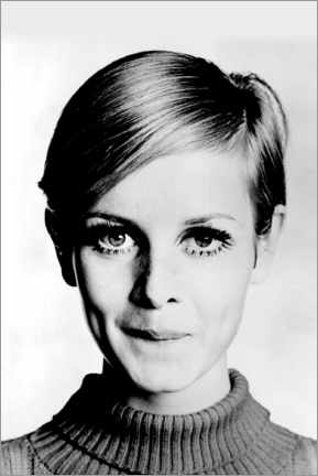Acrylic print  Cheeky Twiggy - Celebrity Collection