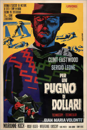 Premium poster A Fistful of Dollars (Italian)