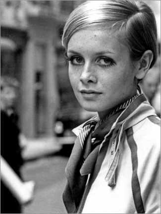 Premium poster Twiggy in London