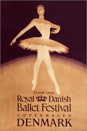 Premium poster  Royal Danish Ballet Festival - Travel Collection