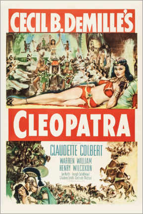 Foam board print  Cleopatra - Entertainment Collection