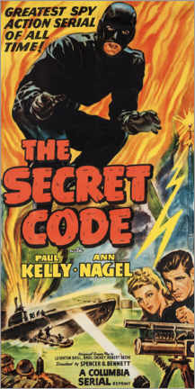 Foam board print  The secret code - Advertising Collection