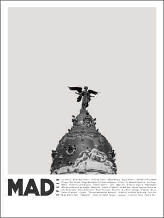 Canvas print  Attractions in Madrid - Finlay and Noa