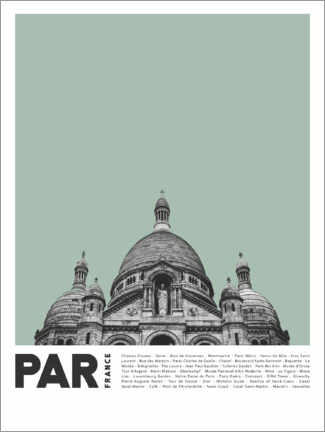 Premium poster Sightseeing in Rome I