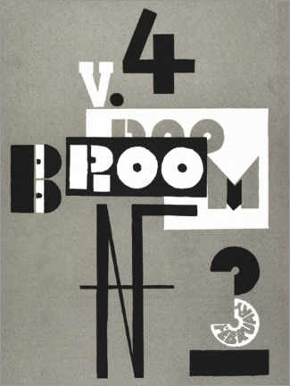 Wood print  Cover of Broom - El Lissitzky