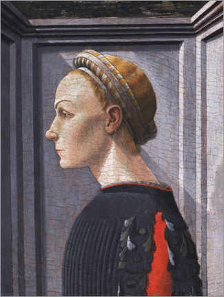 Wall sticker  Portrait of a woman - Paolo Uccello