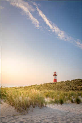 Acrylic print  Sunrise at the List-Ost lighthouse on Sylt - Christian Müringer
