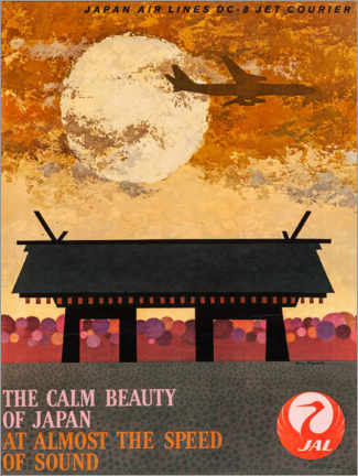 Premium poster The calm beauty of Japan