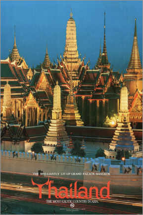 Canvas print  Thailand, the most exotic country in Asia - Travel Collection